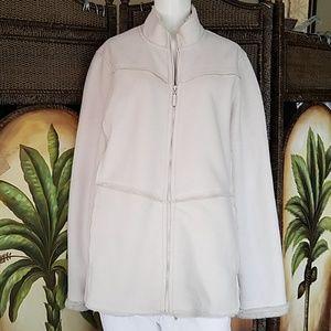 Reitmans Faux Sheepskin Winter coat zip up